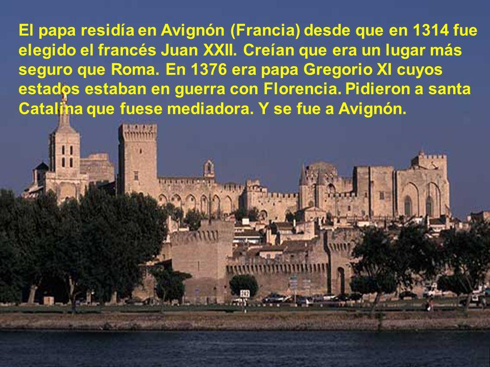 El 1 de Abril de 1375, estando en Pisa, recibió santa Catalina los estigmas invisibles.