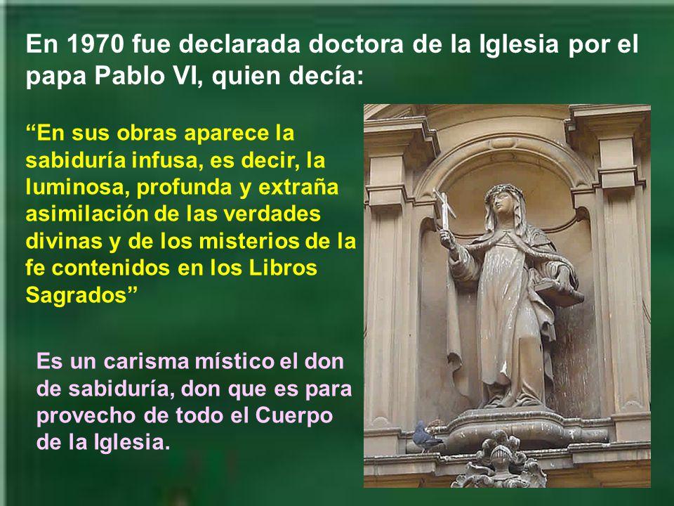 Fue canonizada por el papa Pio II, que era también de Siena, el 29 de Junio de 1461.