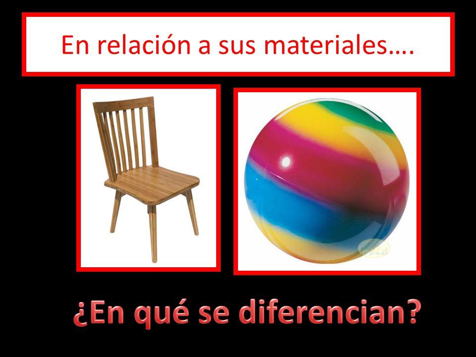 En relación a sus materiales….