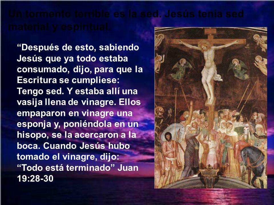 ¿Cómo poder entender que el Hijo de Dios soportara el abandono de su Padre para ampararnos a nosotros? Podemos decir como san Pablo: ¡Oh profundidad d