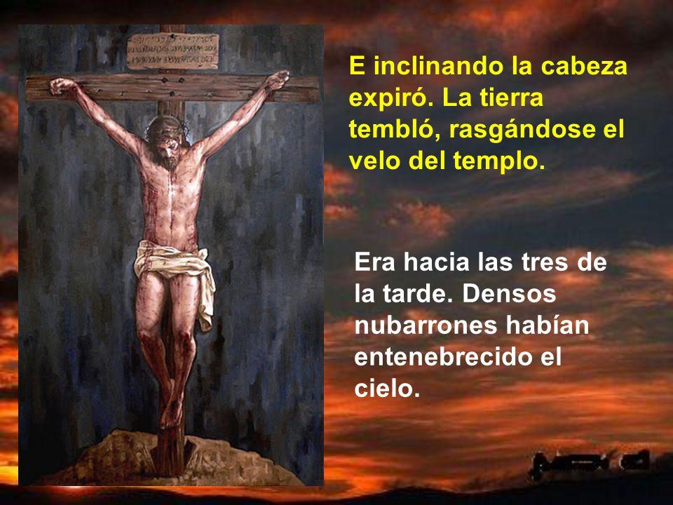 Y ahora Jesús se abandona en las manos de su Padre. Padre, en tus manos pongo mi Espíritu. Las manos de Dios son manos paternales. Las manos de Dios s