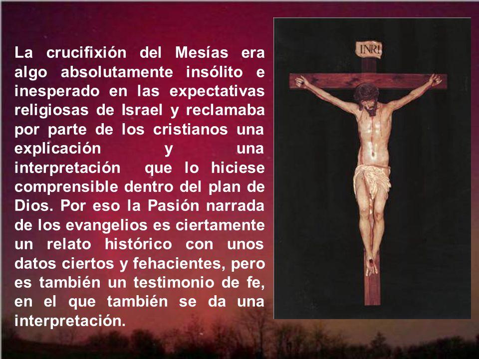Jesús murió realmente por todos nosotros. ¡La cruz no fue una apariencia, pues entonces apariencia habría sido la redención! ¡Su muerte no fue una fan