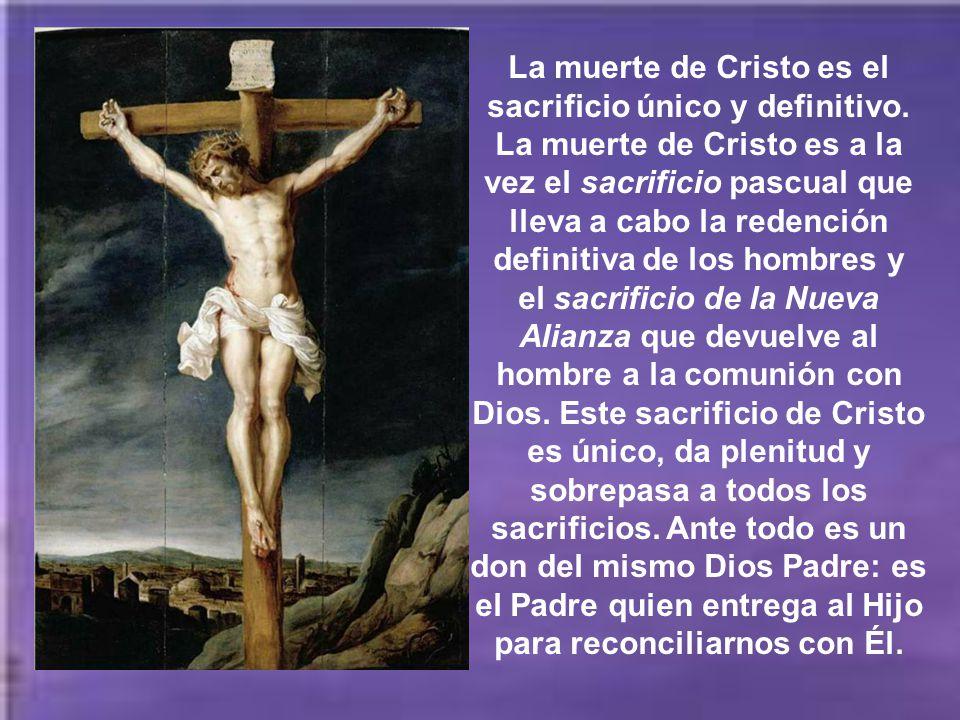 La crucifixión del Mesías era algo absolutamente insólito e inesperado en las expectativas religiosas de Israel y reclamaba por parte de los cristiano