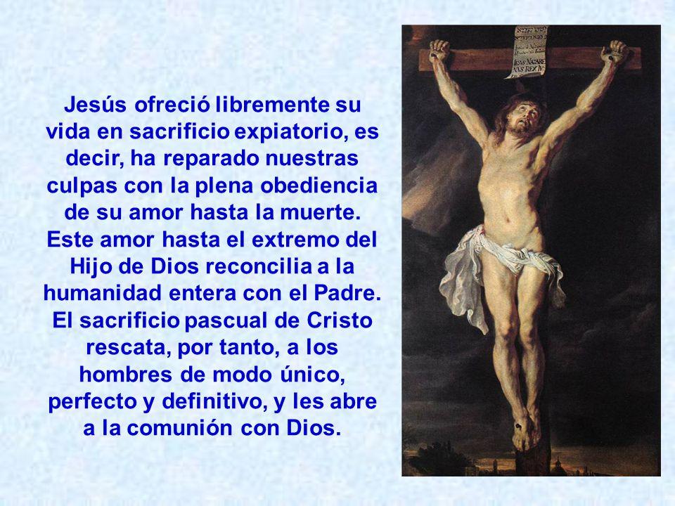La Cruz es el único sacrificio de Cristo; pero El llama a sus discípulos a