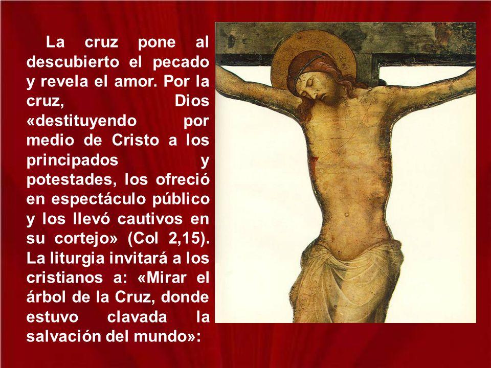 Mientras los judíos piden señales y los griegos buscan sabiduría, nosotros predicamos a Cristo crucificado, escándalo para los judíos, necedad para lo