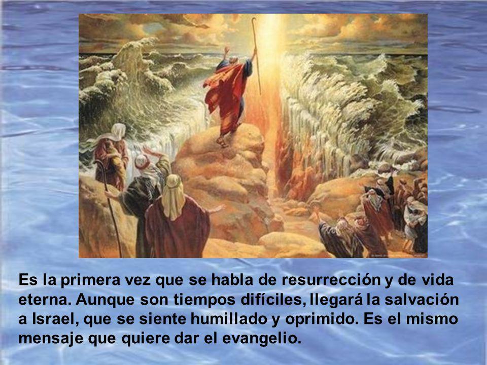 Daniel 12, 1-3 Por aquel tiempo se levantará Miguel, el arcángel que se ocupa de tu pueblo: serán tiempos difíciles, como no los ha habido desde que h