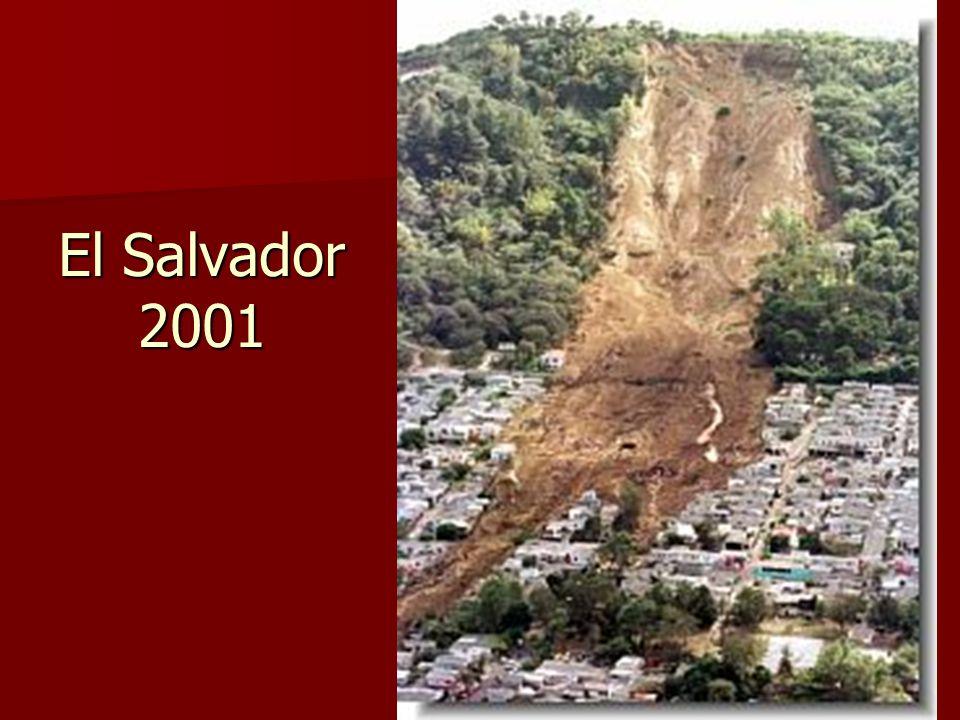 El Salvador 2001