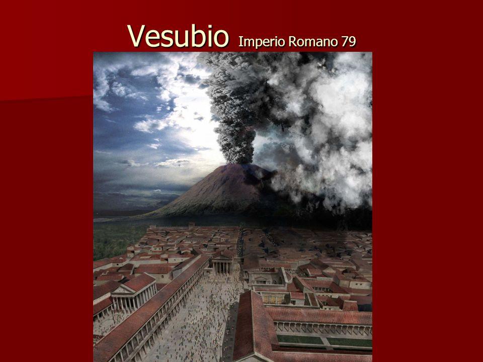 Vesubio Imperio Romano 79