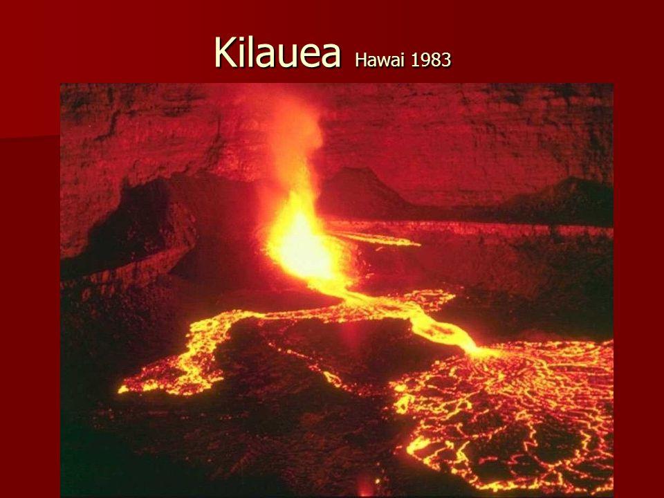 Kilauea Hawai 1983