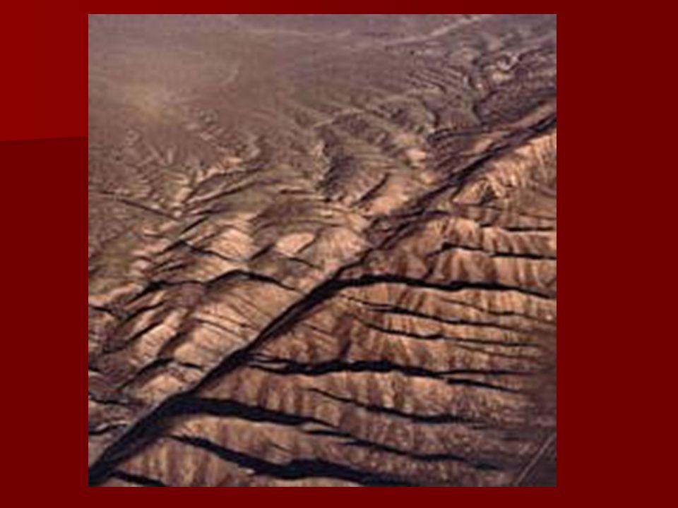 FUERZAS QUE MODELAN EL RELIEVE Transforman la corteza de la tierra provocando pliegues o fallas 1.