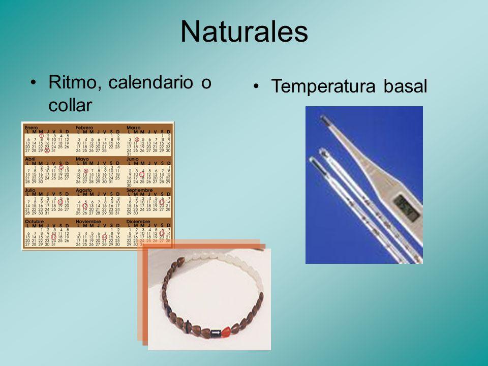 Naturales Moco cervicalCoito interrumpido