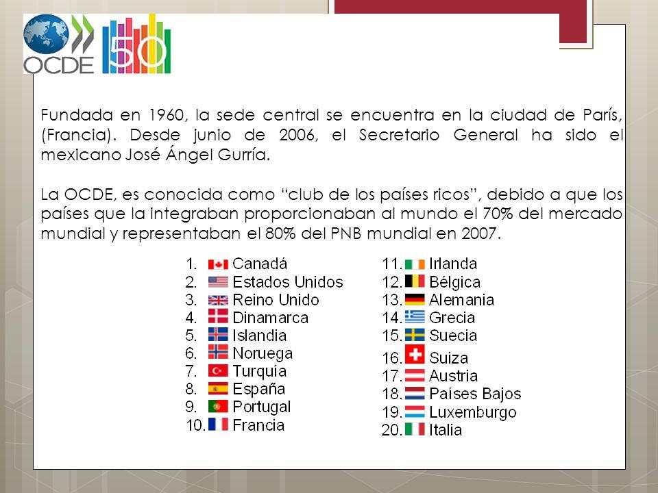 Fundada en 1960, la sede central se encuentra en la ciudad de París, (Francia). Desde junio de 2006, el Secretario General ha sido el mexicano José Án