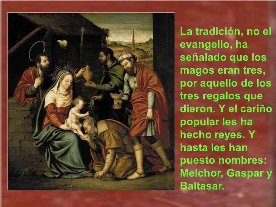 La Iglesia aplica ese texto a los Magos de Oriente y a tantos que de Oriente y de Occidente proclamarán siempre la alabanza a Dios.