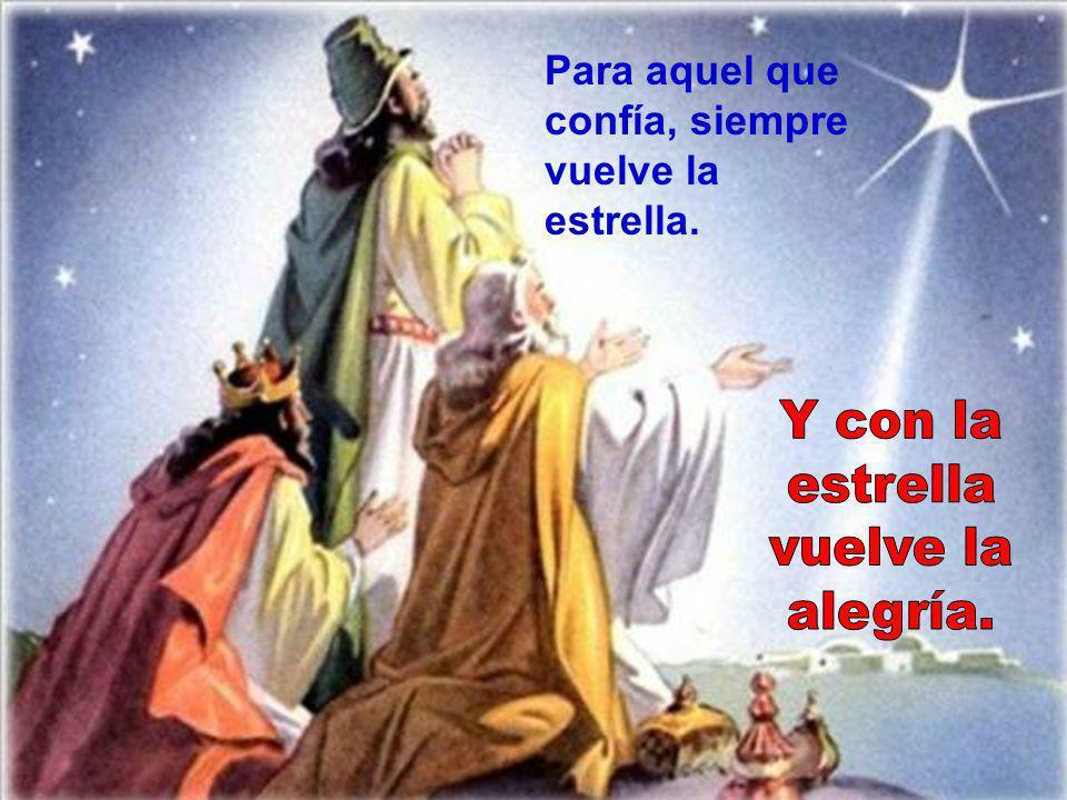 6- APARECIÓ DE NUEVO LA ESTRELLA Dios parece que se esconde, pero termina consolando. Dios aprieta, pero no ahoga