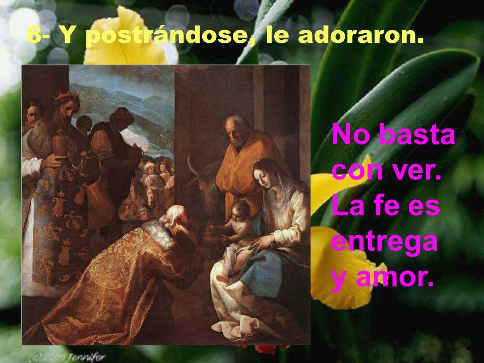 Está sobre todo en la Eucaristía. Pero también está en los sencillos, en los pobres, en su Palabra, en el amor fraternal.