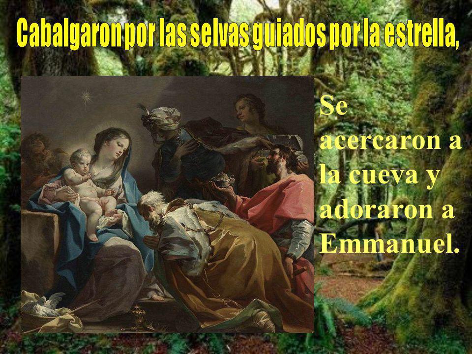 También nosotros vamos con los regalos, llevamos al establo pureza y fe.