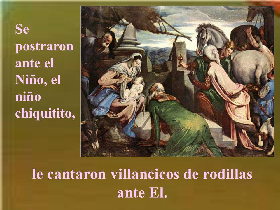 Se acercaron a la cueva y adoraron a Emmanuel.