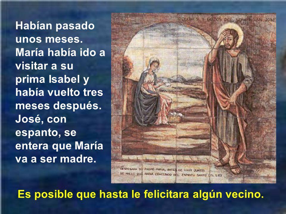 Otro suceso interesante, para reafirmar la virginidad de María es lo que nos narra el evangelio de san Mateo cuando san José se dio cuenta de lo que sucedía.