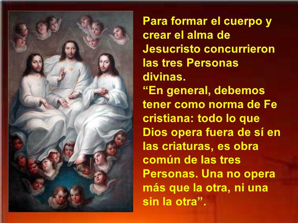 Jesús es Hijo del Padre celestial según la naturaleza divina, e Hijo de María según la naturaleza humana; pero es propiamente Hijo de Dios según las dos naturalezas, al haber en Él una sola Persona, la divina.