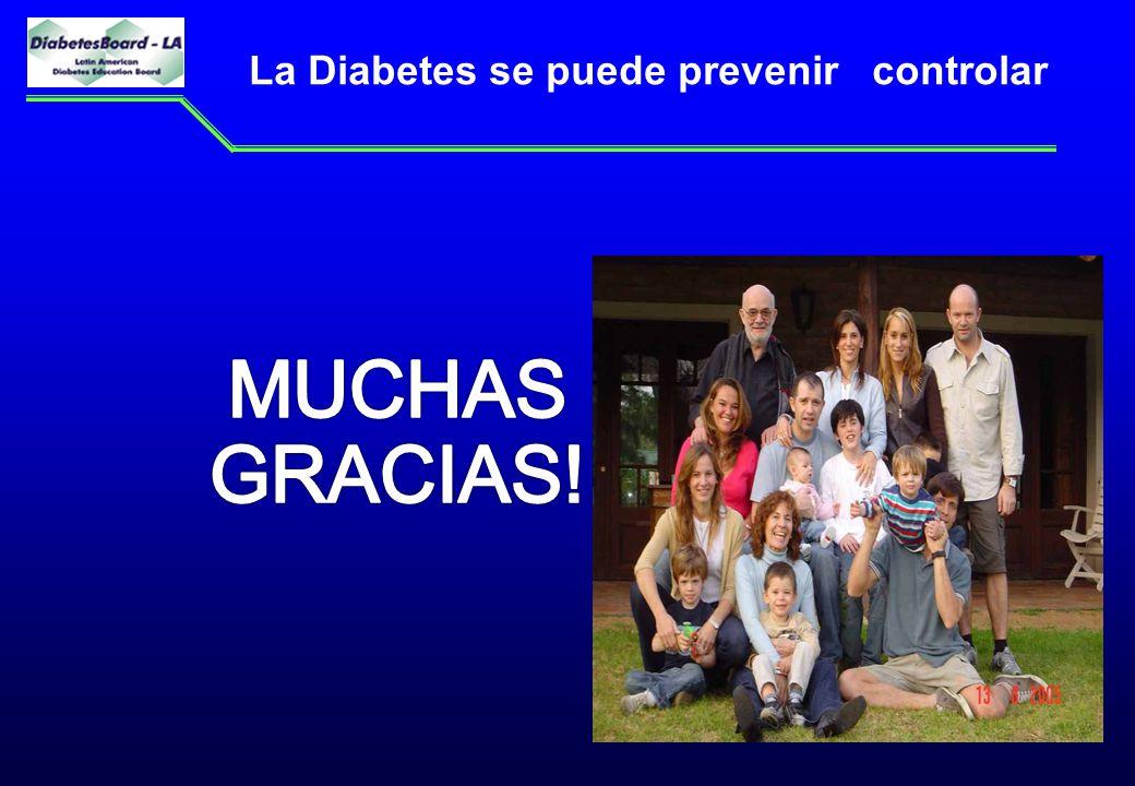 La Diabetes se puede prevenir controlar 25