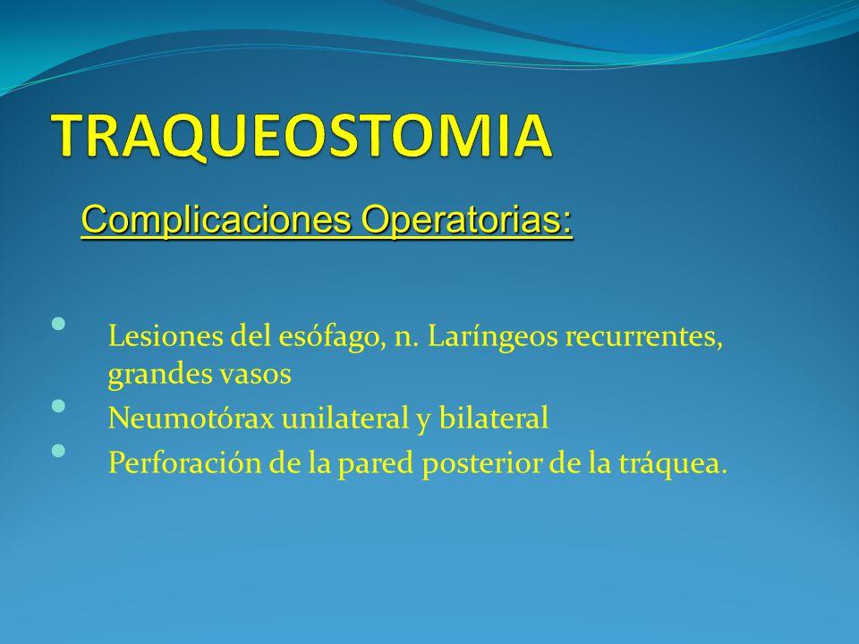 Lesiones del esófago, n.
