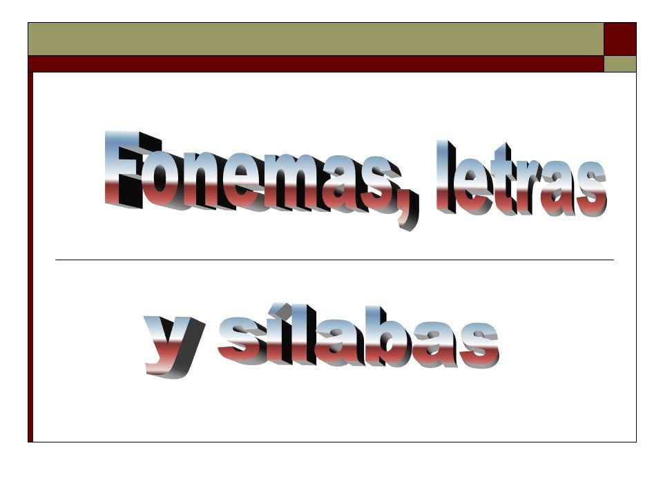 El fonema Es un conjunto limitado de sonidos ideales que forman una lengua.