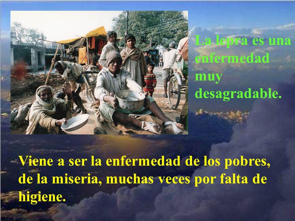 No desprecia a nadie; sus hijos son todos, quien vive en miseria, quien nada en confort.