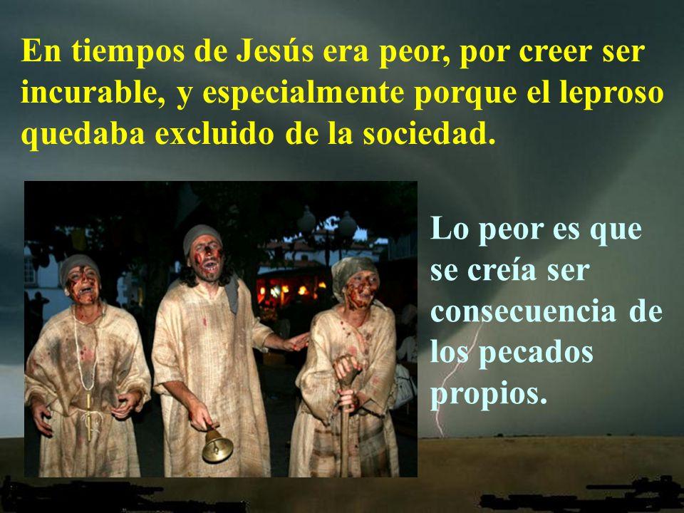 Dice el evangelio que se acercó a Jesús un leproso, suplicándole de rodillas: Si quieres, puedes limpiarme.