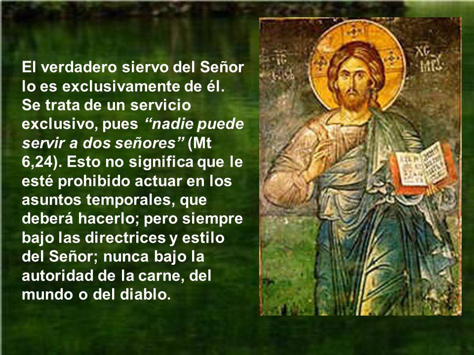 La Iglesia, comunidad cristiana, es el lugar donde el siervo lleva a cabo su labor. En la comunidad, el trabajo de cada uno se complementa y entrelaza