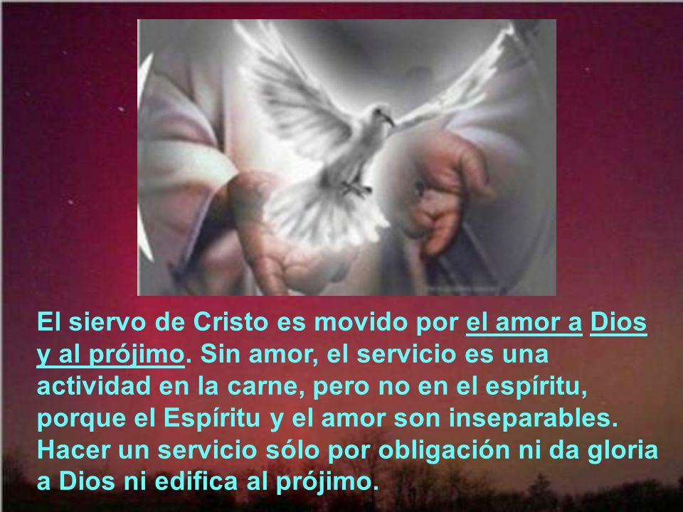 El siervo de Cristo busca agradar por encima de todo a su Señor: ¿Busco yo ahora el favor de los hombres o el de Dios? ¿O es que intento agradar a los