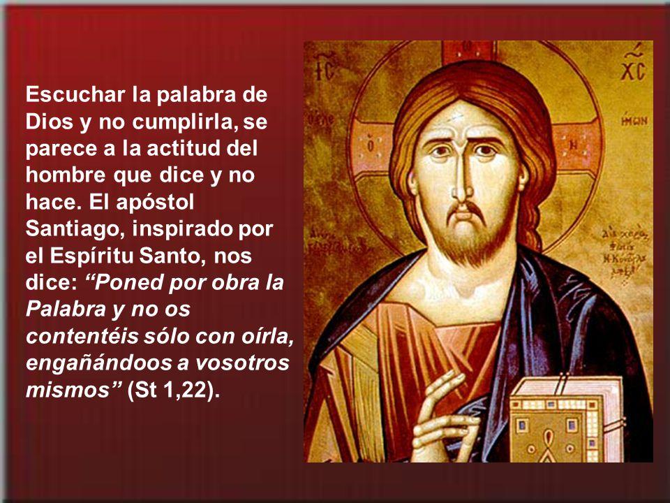 No se identifica a un discípulo de Cristo porque se llame a sí mismo cristiano, ni porque sepa mucho de la Biblia, ni porque tenga grandes sentimiento