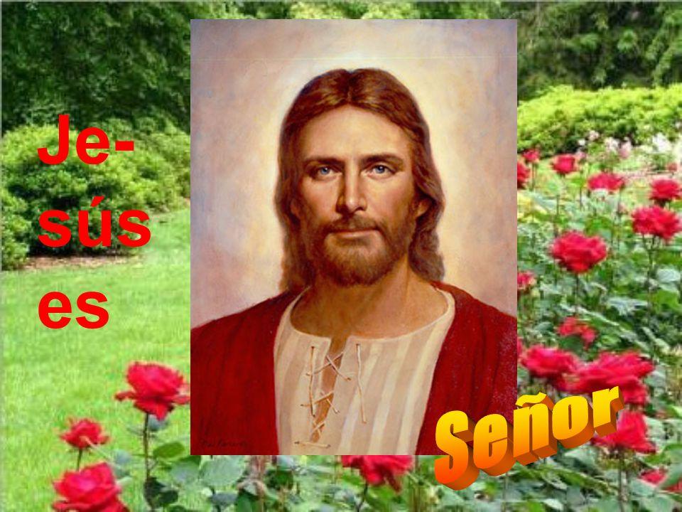 Jesús es el Señor.Esta es una de las más importantes confesiones de fe cristiana.