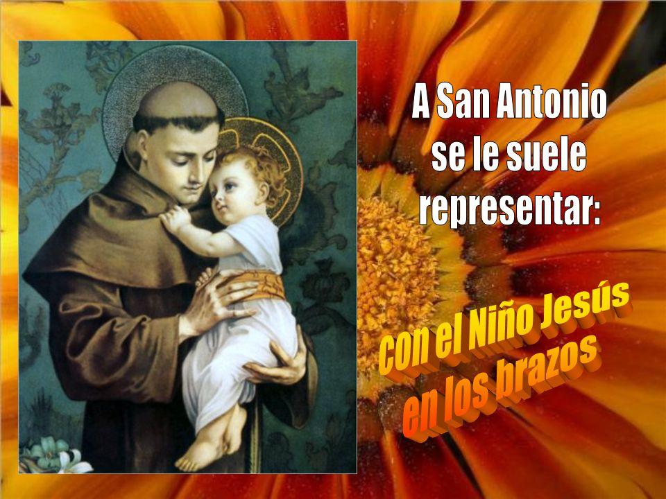 Divino Antonio precioso, suplícale al Dios Inmenso que por tu gracia divina alumbre mi entendimiento.