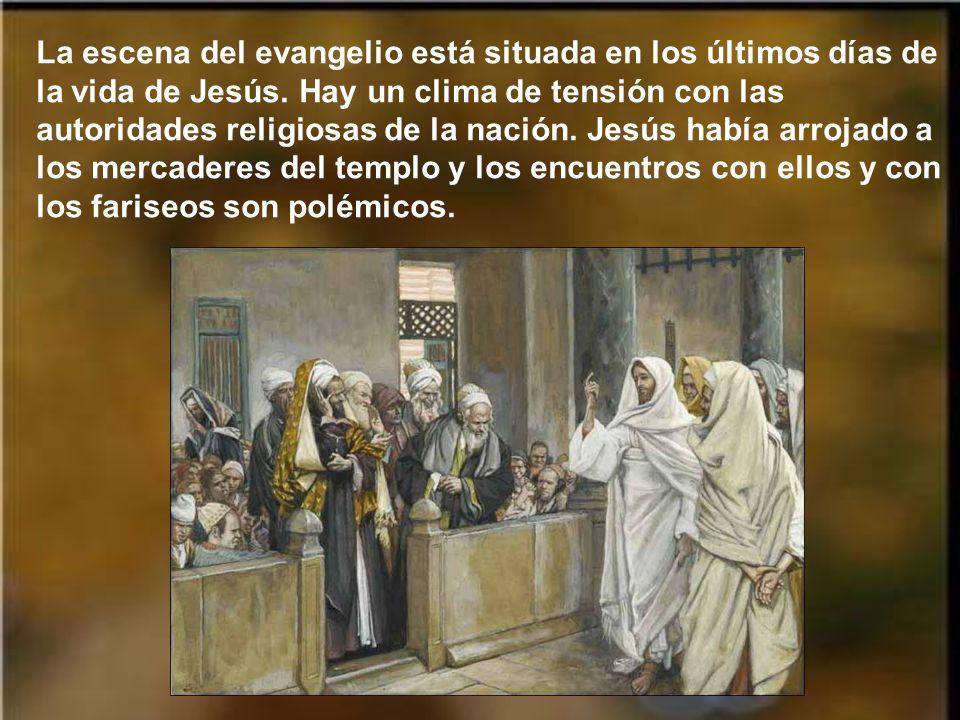 En aquel tiempo, entre lo que enseñaba Jesús a la gente, dijo: