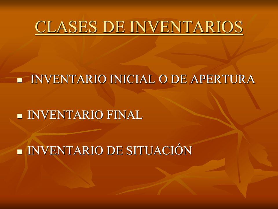 PARTES DEL INVENTARIO INVENTARIO: INVENTARIO: I.- ACTIVO II.- PASIVO III.- RESUMEN ( ACTIVO – PASIVO ) ( ACTIVO – PASIVO )
