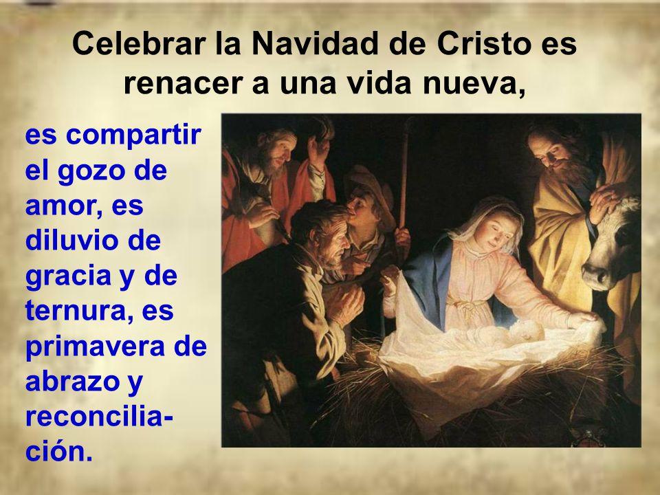 Hay dos maneras muy diferentes de celebrar la Navidad: La verdadera es con Cristo. La falsa es la del consumo y la frivolidad. La Navidad sin Cristo e