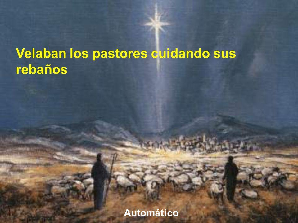 En las afueras de la ciudad había unos pastores que estaban cuidando sus rebaños. A ellos se dirige Dios por medio de un ángel.