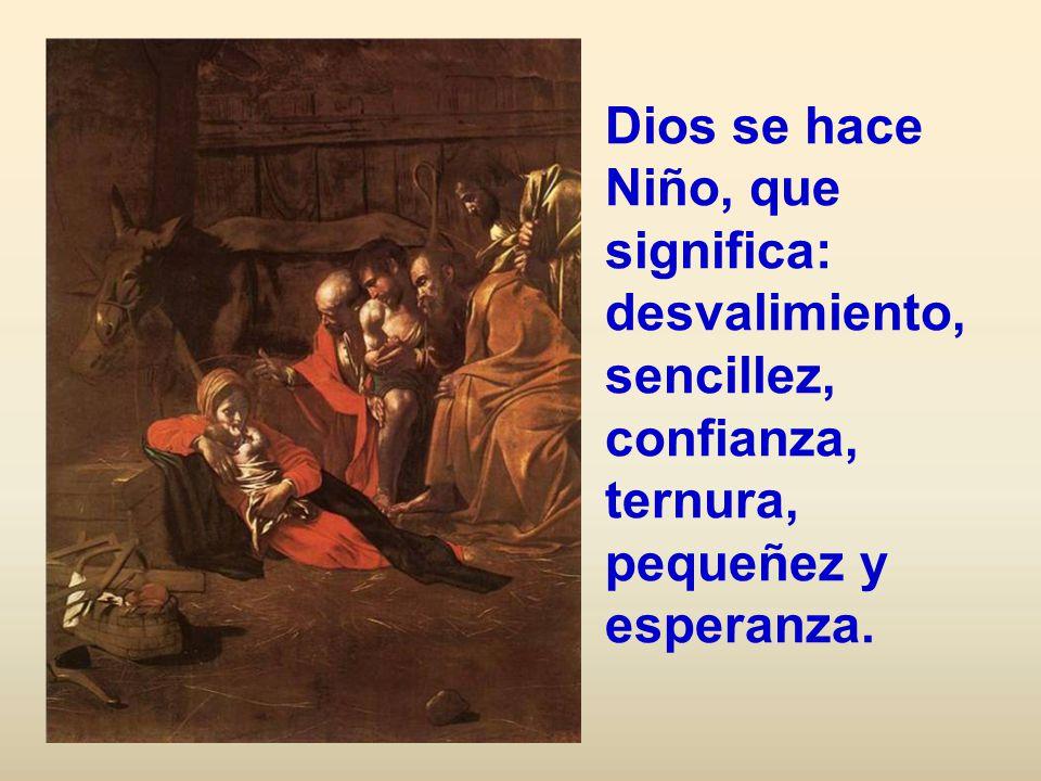 Y luego busco la humildad: El cual, siendo de condición divina, se despojó de su rango y tomó la condición de siervo haciéndose semejante a nosotros.