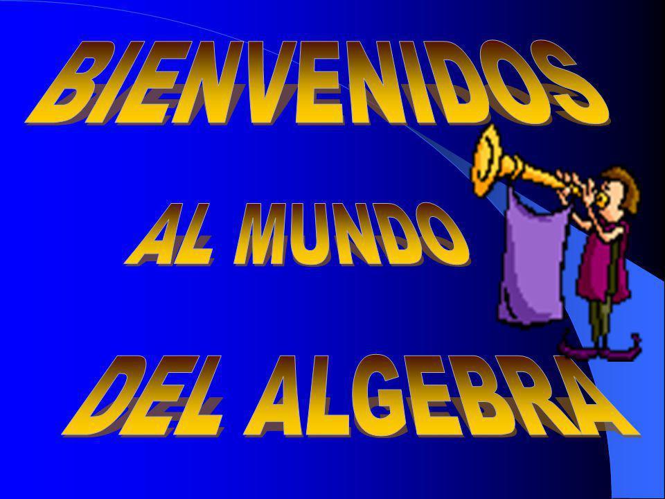 ÁLGEBRA El álgebra es una rama de las matemáticas que emplea números, letras, signos para generalizar las distintas operaciones aritméticas.