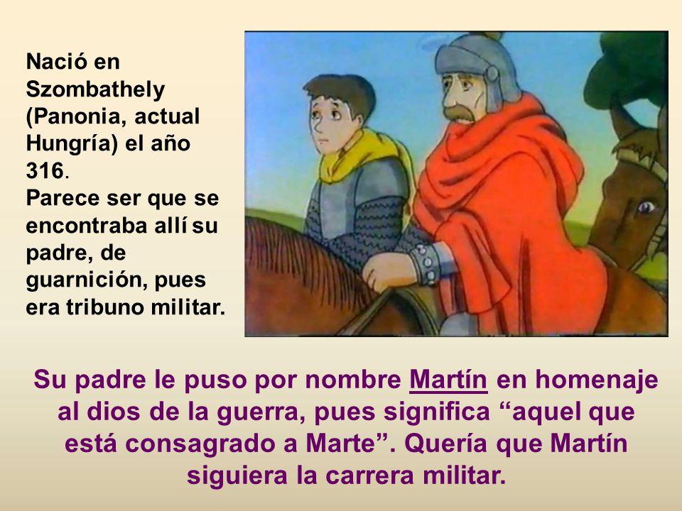Otros lo resumen de esta manera: soldado sin quererlo, monje por elección y obispo por deber. Un resumen de la vida de san Martín de Tours pueden ser