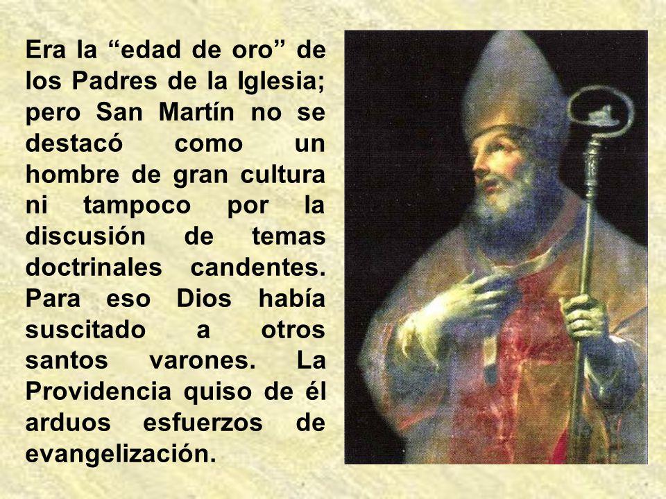 Como obispo misionero, continuó la evangelización no sólo de su diócesis, sino de toda la Galia. Al impulso de su actividad apostólica, nacieron en Fr
