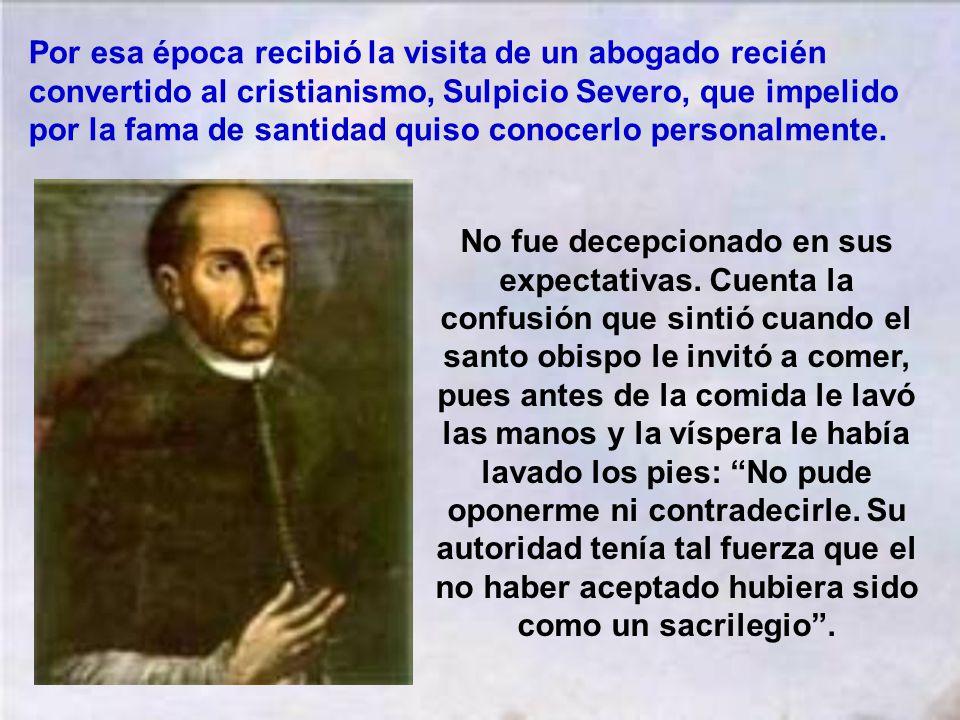 Con esta institución creó san Martín uno de los elementos que más contribuyeron a la formación de la sociedad agrícola del pueblo. Recorrió todo el te