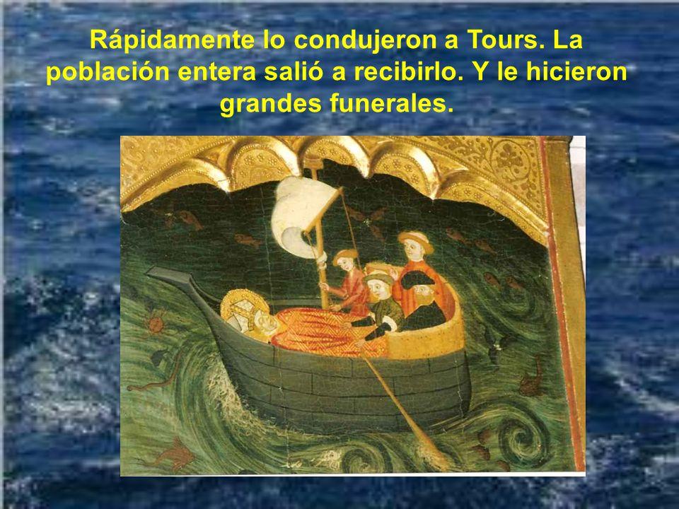 El hecho es que, después de la célebre discusión entre los habitantes de Poitiers y los de Tours sobre qué ciudad tenía derecho a quedarse con sus res