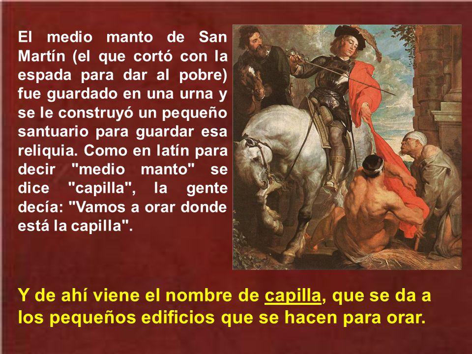 Aquí tiene san Martín un nuevo sepulcro donde acuden multitud de peregrinos a venerarlo, buscando sus huellas de santificación.
