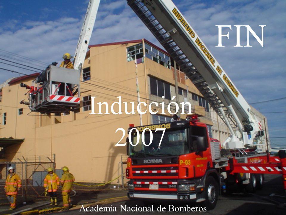 Curso de inducción 200732 Academia Nacional de Bomberos FIN Inducción 2007