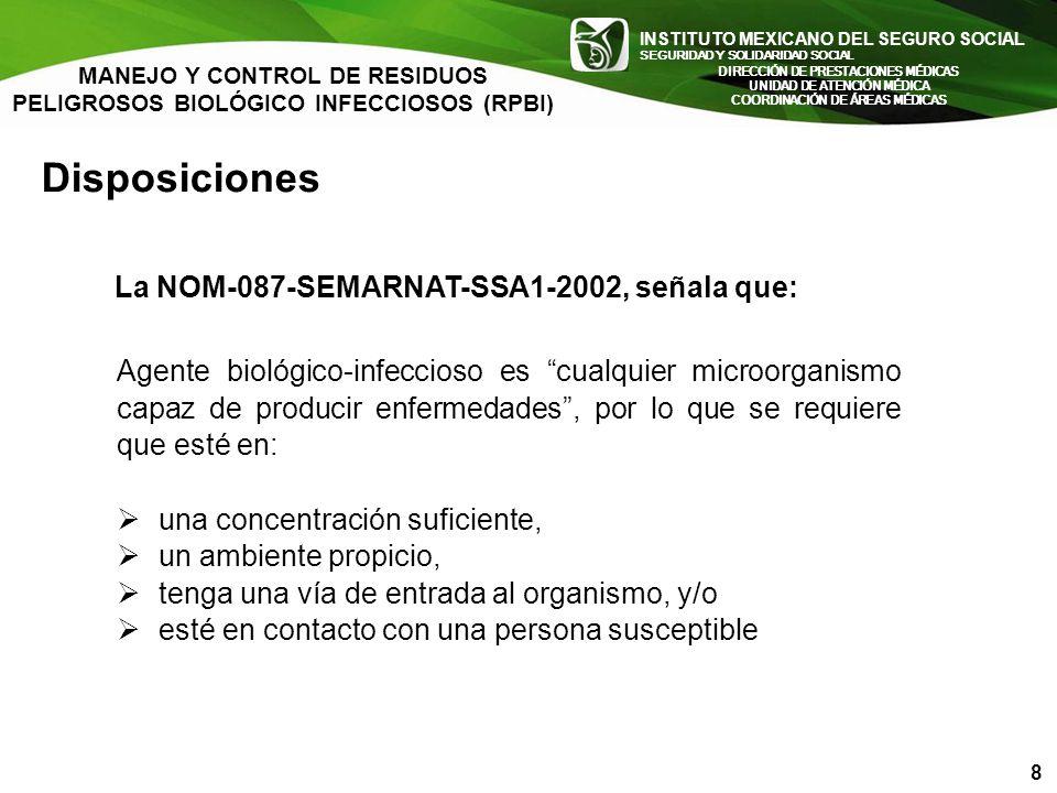 INSTITUTO MEXICANO DEL SEGURO SOCIAL SEGURIDAD Y SOLIDARIDAD SOCIAL INSTITUTO MEXICANO DEL SEGURO SOCIAL SEGURIDAD Y SOLIDARIDAD SOCIAL Disposiciones