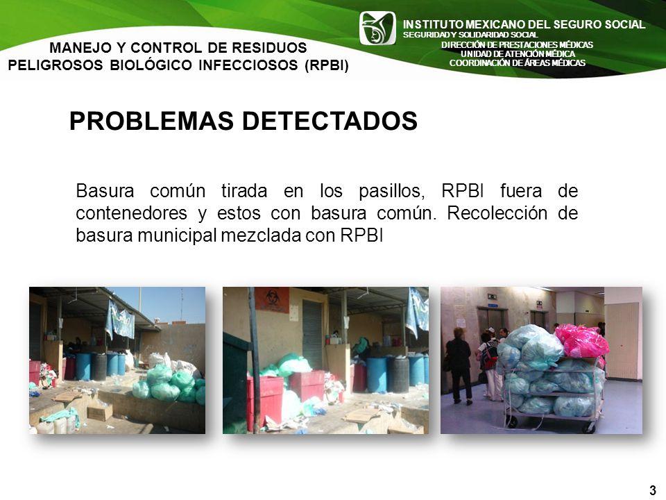 INSTITUTO MEXICANO DEL SEGURO SOCIAL SEGURIDAD Y SOLIDARIDAD SOCIAL INSTITUTO MEXICANO DEL SEGURO SOCIAL SEGURIDAD Y SOLIDARIDAD SOCIAL PROBLEMAS DETE