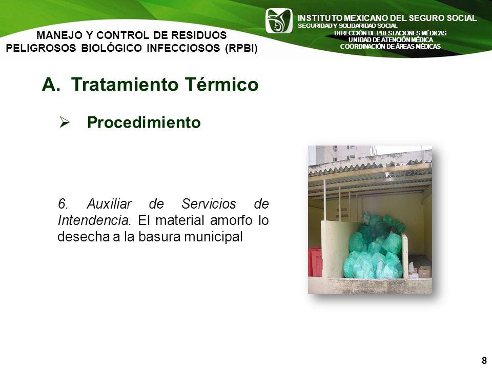INSTITUTO MEXICANO DEL SEGURO SOCIAL SEGURIDAD Y SOLIDARIDAD SOCIAL INSTITUTO MEXICANO DEL SEGURO SOCIAL SEGURIDAD Y SOLIDARIDAD SOCIAL MANEJO Y CONTR