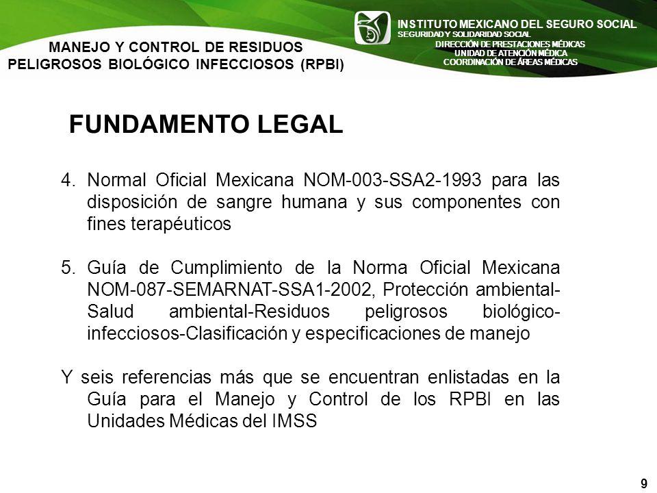 INSTITUTO MEXICANO DEL SEGURO SOCIAL SEGURIDAD Y SOLIDARIDAD SOCIAL INSTITUTO MEXICANO DEL SEGURO SOCIAL SEGURIDAD Y SOLIDARIDAD SOCIAL FUNDAMENTO LEG