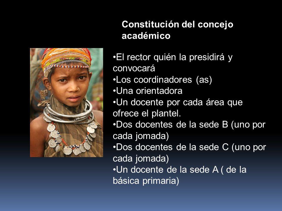 CONSEJO ACADÉMICO.(Art.